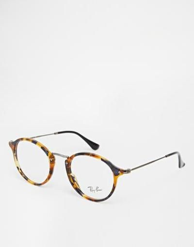 4b004757a2 rayban round glasses brown  accessories  eyewear  covetme