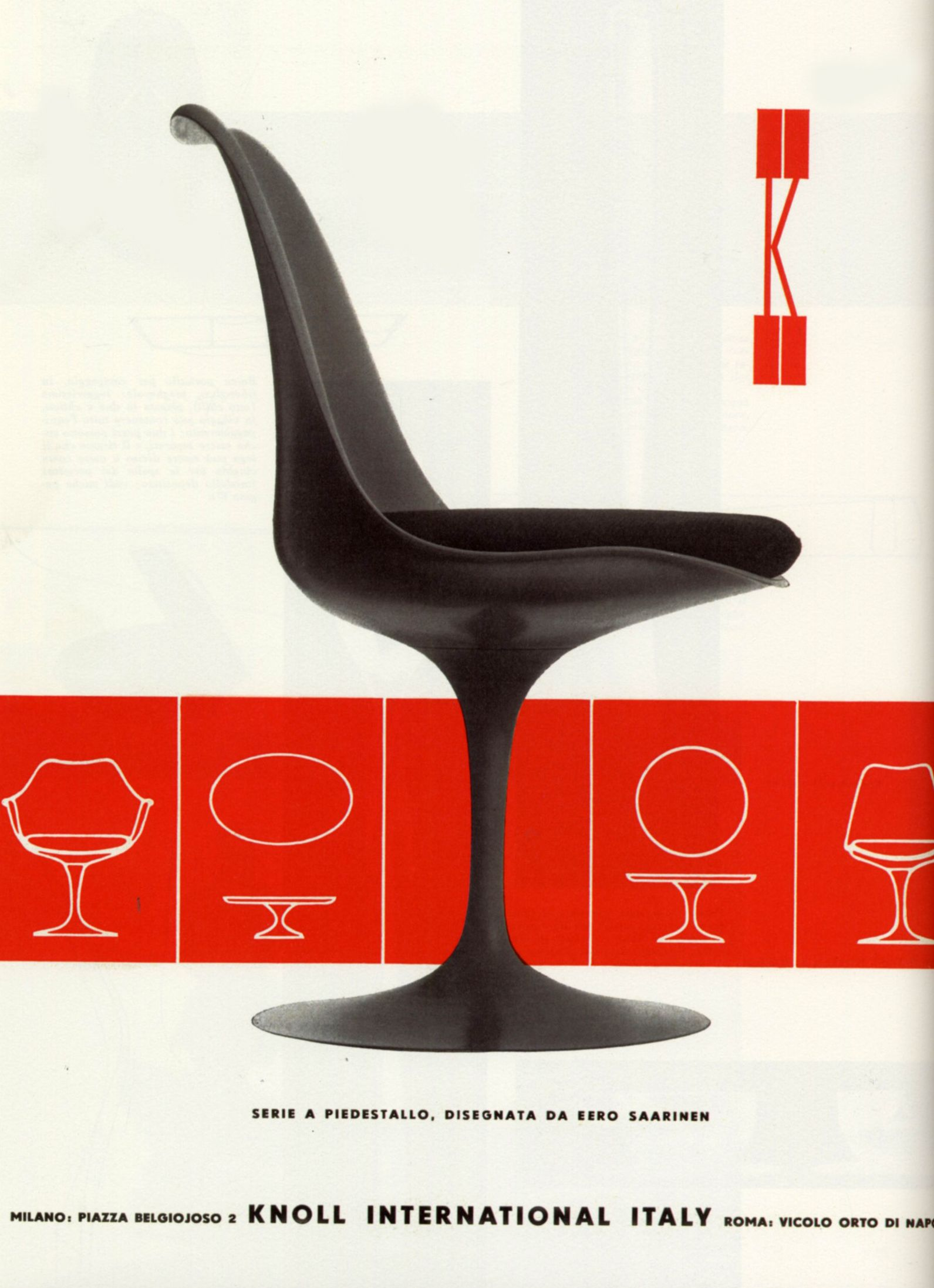 Knoll Furniture Ad Domus Magazine Furniture Ads Knoll Furniture Furniture Brochure
