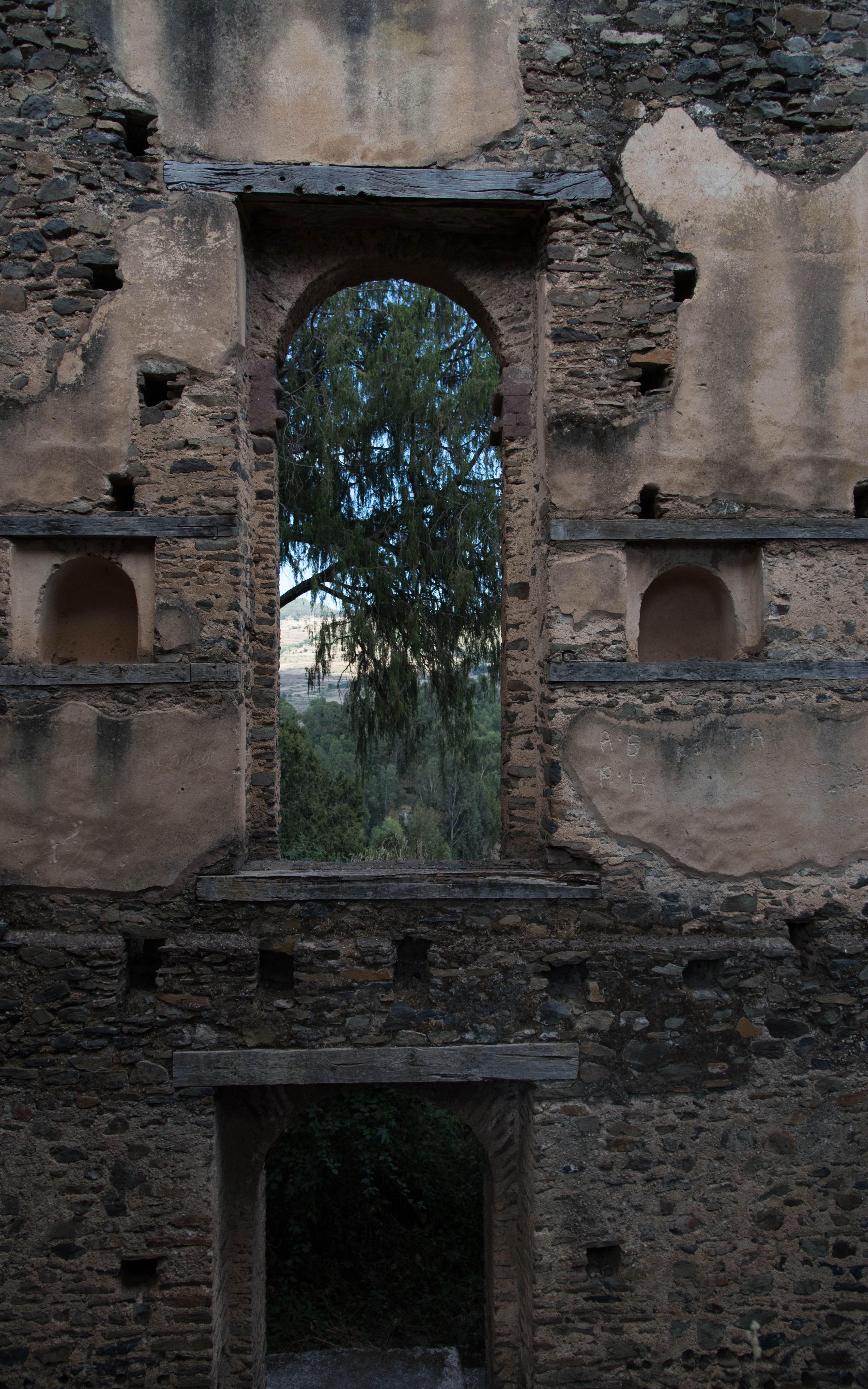 Empress Mentewab's Kuskuam Complex - Gondar - 2016