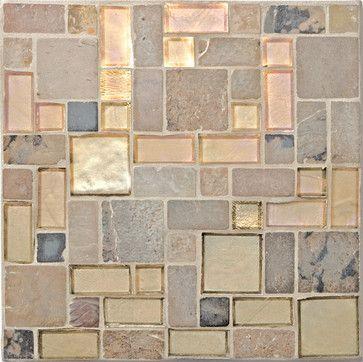 Bold, Mosaic, Glass Tile, Custom, Studio V121 - Hand-Cut Glass The Tile Gallery (312) 467-9590 www.tilegallerychicago.com