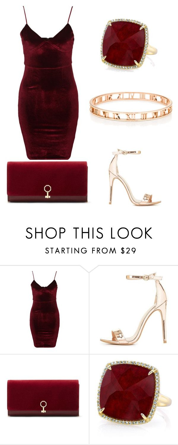"""""""Night out"""" by itsmexo ❤ liked on Polyvore featuring Glamorous, Charlotte Russe, Louise et Cie and Anne Sisteron"""