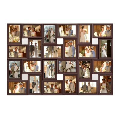 Brown 24 Opening Collage Frame Frames I Want Collage Frames
