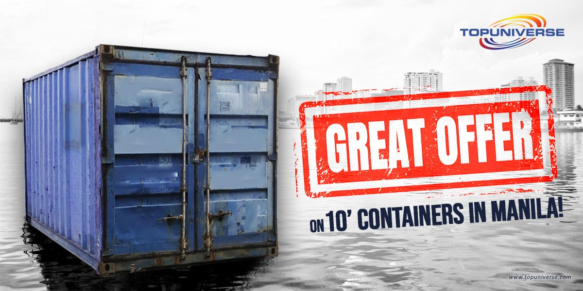 400 Units Of 10 Class C Shipping Containers Are Available In Manila At Just Php 23 000 Per P In 2020 Containers For Sale Shipping Containers For Sale Container Prices