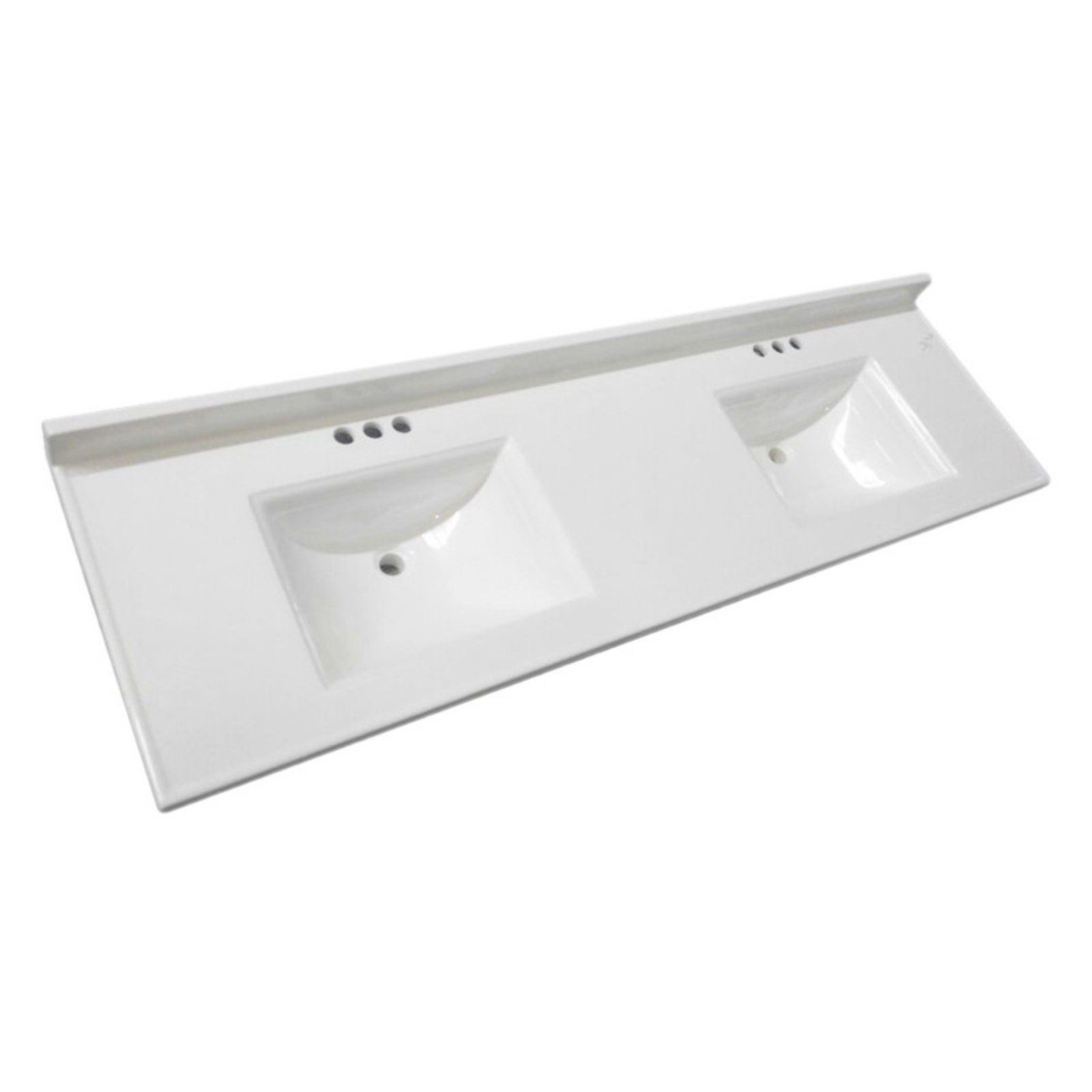 Design House Camilla 73 In Cultured Marble Double Bowl Vanity Top