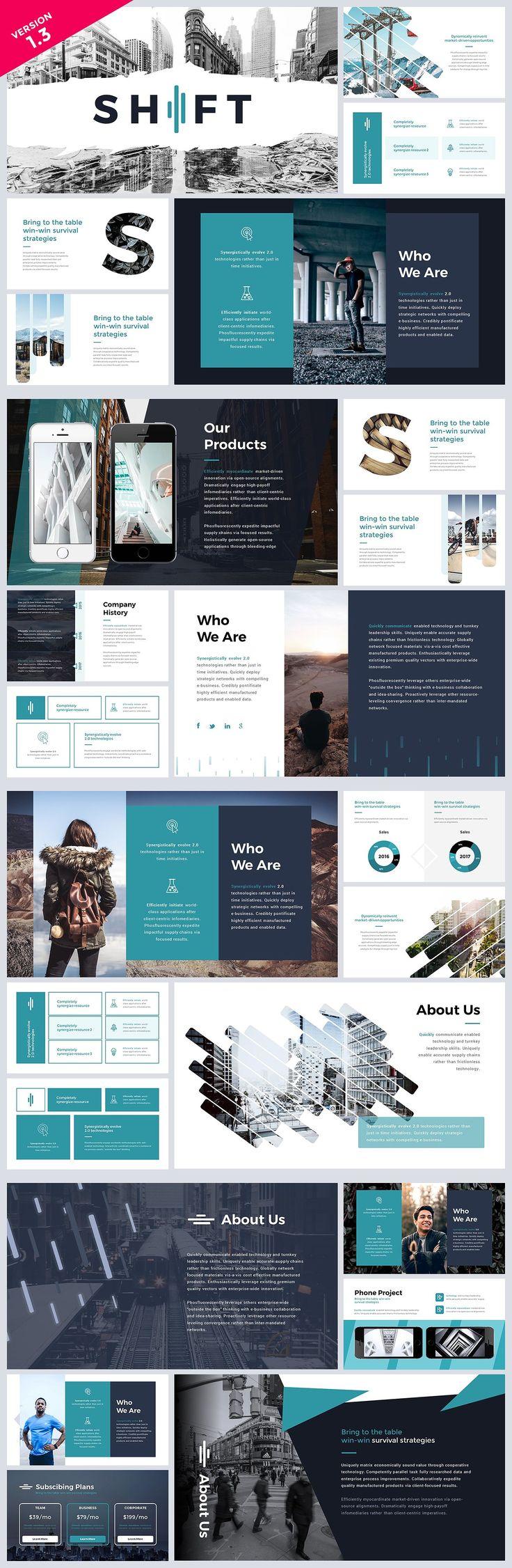Resultado De Imagem Para Modern Powerpoint Templates Design De