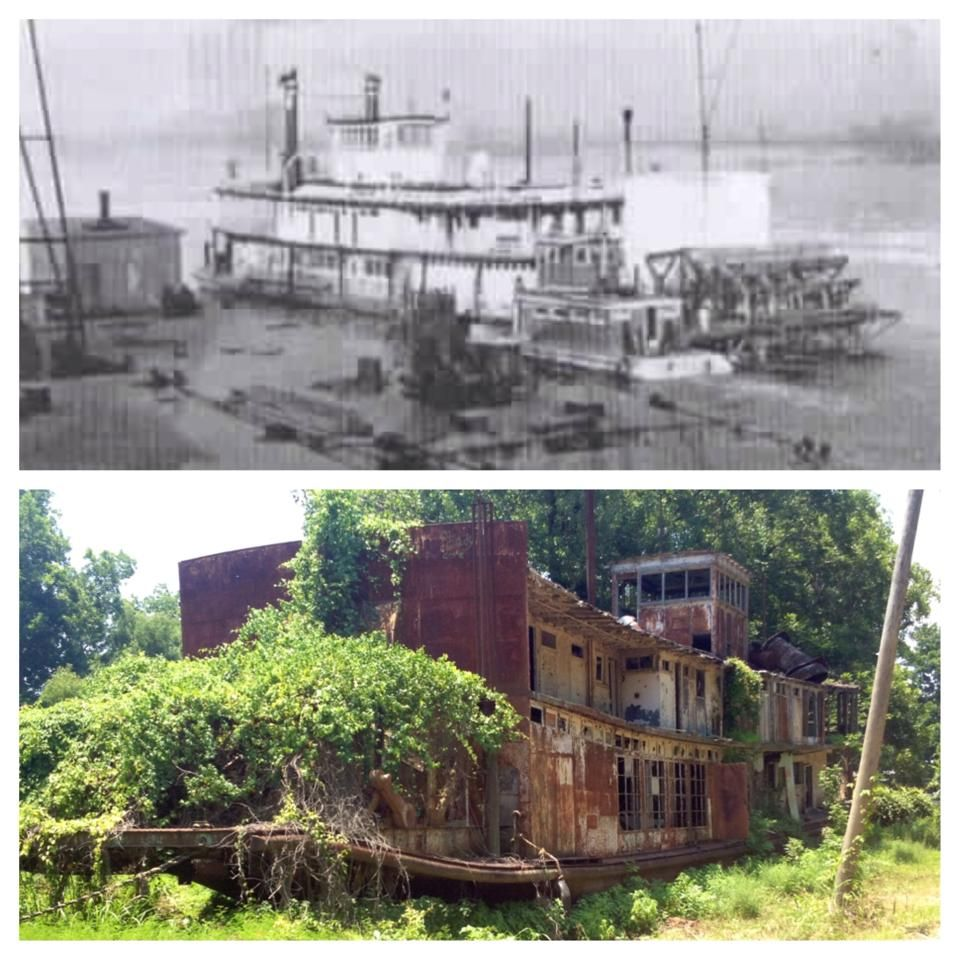 Then At Natchez. Now Across The River In La.