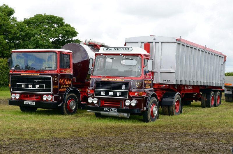 Erf Trucks Truck Uk Historic Trucks Old Lorries Classic Trucks