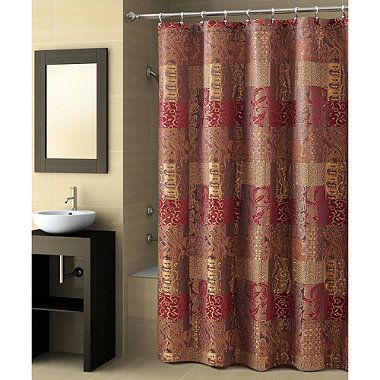 CroscillR Opulence 70 Inch X 72 Shower Curtain