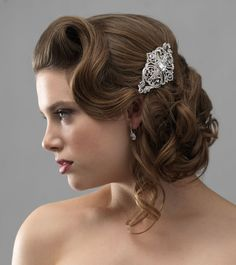 old hollywood hair accessories - Google Search