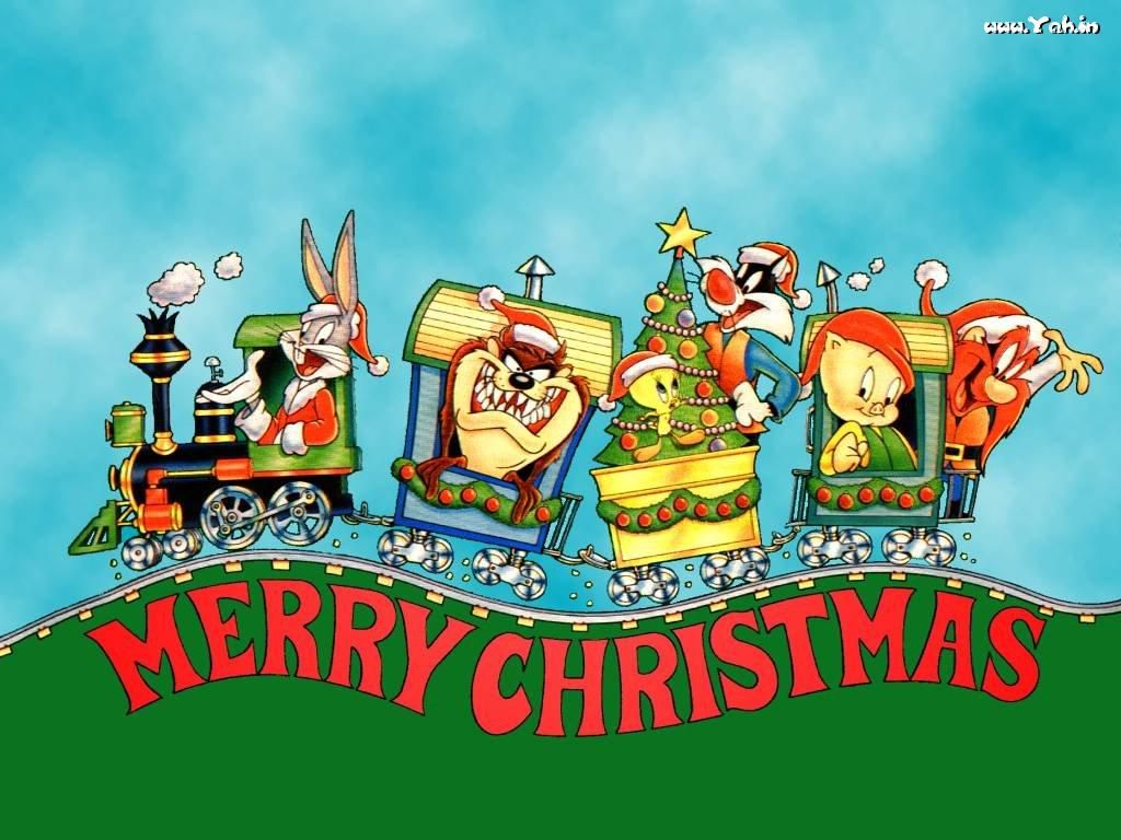 Looney Tunes Christmas Wallpaper Christmas Cartoon Christmas Cartoon Characters Christmas Cartoons Cartoon