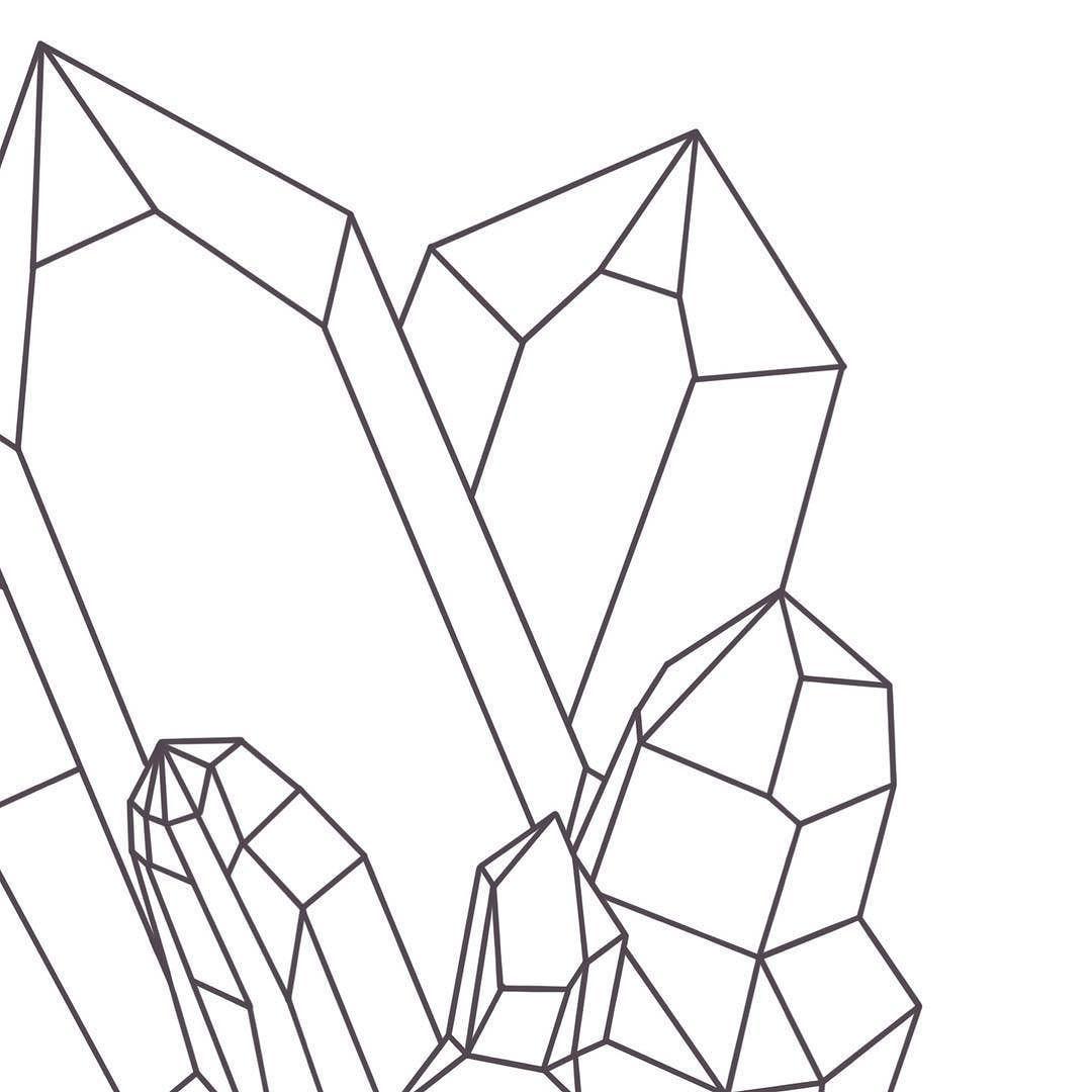 остальном, картинки кристаллов поэтапно возрастом