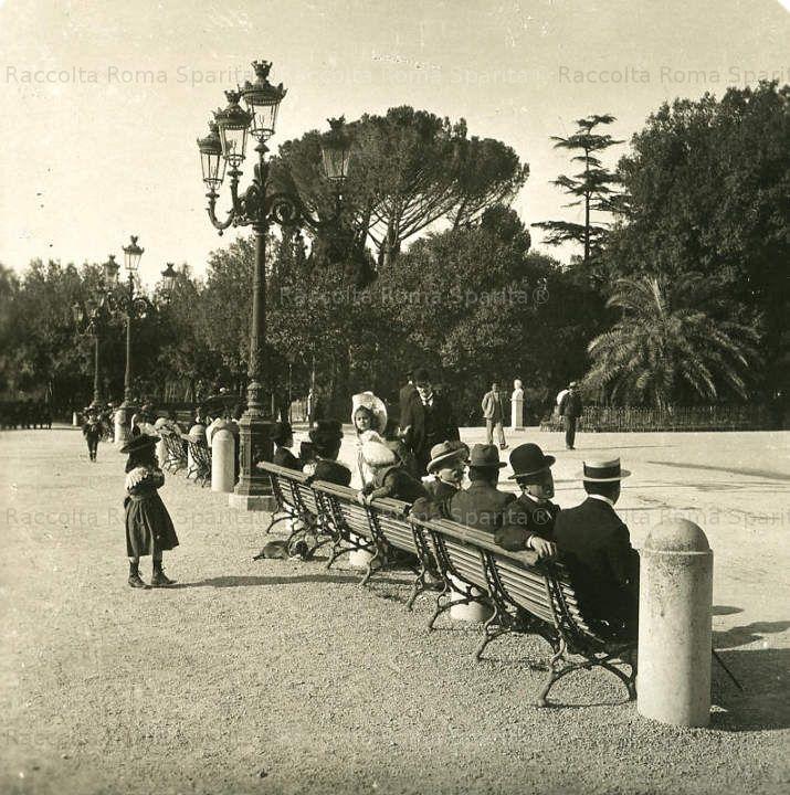 Il Pincio 1900