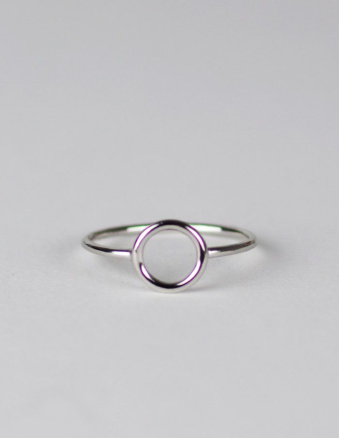 Blättchen Ring Sterling Silver | itsCult