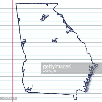 hand drawn state maps - Google Search