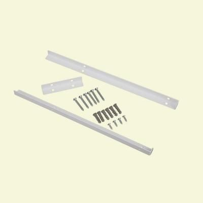 4 Kits ClosetMaid Selectives 14 In. White Metal Shelf Support Kit 7040 At  The