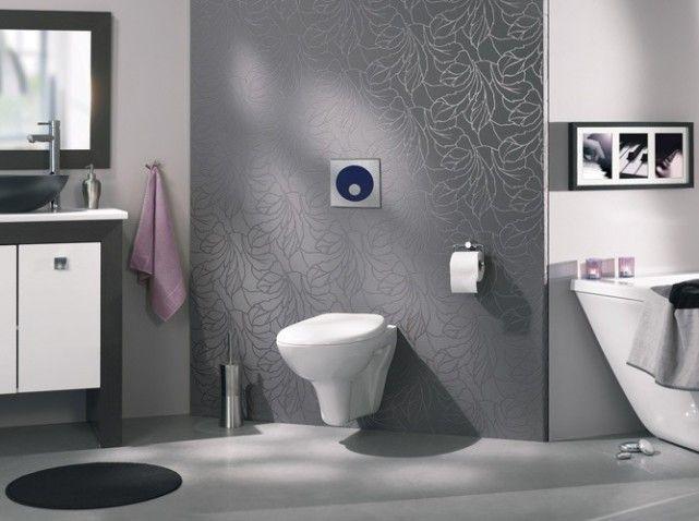 Pingl par pierrette sur wc pinterest d co - Deco originele wc ...