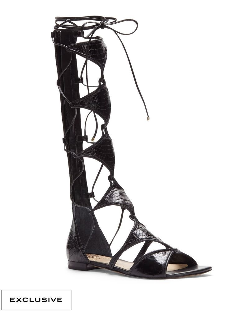 be2aa2044c5 Vince Camuto Open Toe Leather Gladiator Sandals  VinceCamuto  Gladiator   Casual