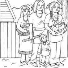 Native American Coloring Page : Printable Coloring Book ...