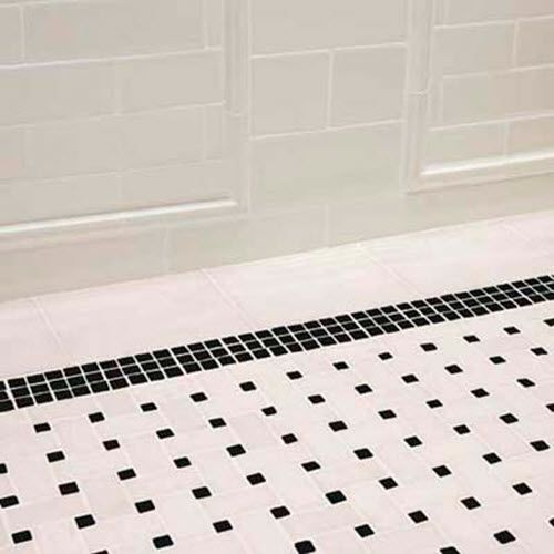 Bathroom Tiles Black And White 31 retro black white bathroom floor tile ideas and pictures | our