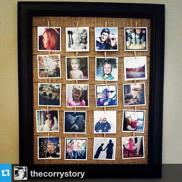 @thecorrystory My instagram display using #instagramprints from www.FoxGram.com #foxgram