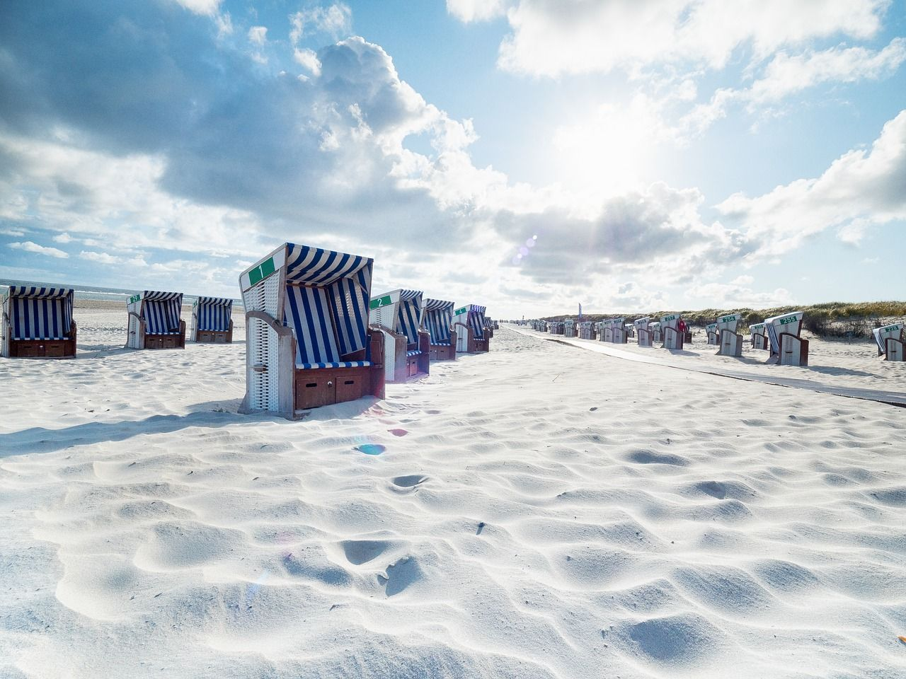 Vacation, Beach, Beach Chair, Norderney, Clubs vacation