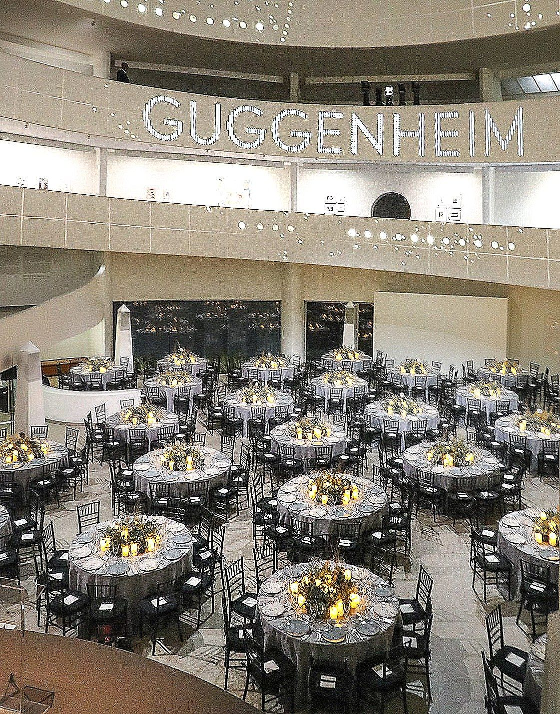 Aren't these Tables lovely at a recent Event held at NYC's Guggenheim Museum! #tablescapes #museumvenue #charitydinner #corporateevent  #drapery #eventplanner #weddingphoto #photography #weddingsetting  #wedding #advice #reception #weddingflowers #seattle #eventstyling #eventcompany   #weddingdecor #seattlewedding #weddingideas #entertaining #perfectaffair #partyideas #eventdecor #weddingscene #eventdecorideas #eventdesign #wedding