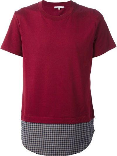 CARVEN Contrast Hem T-Shirt