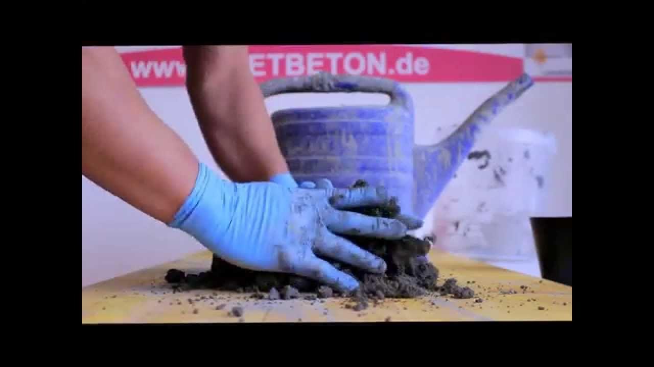 KNETBETON KNETEN (Selber machen)! - YouTube   Garten   Pinterest ...