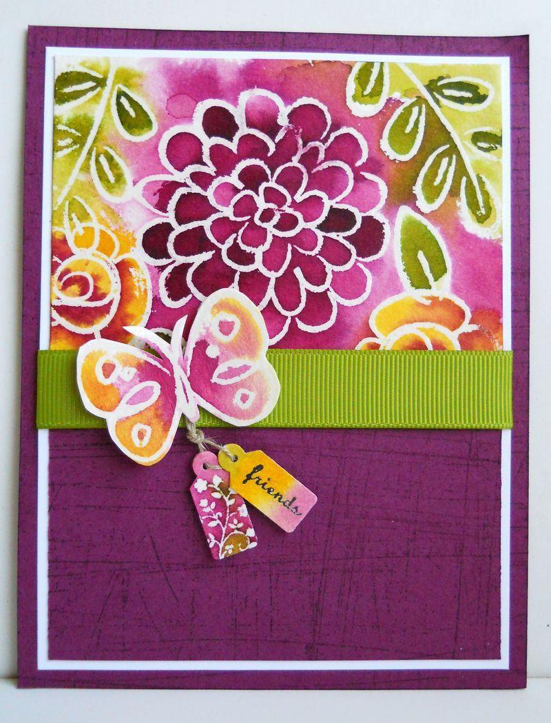 Flower Fest Floral Cards Flower Cards Greeting Cards Handmade