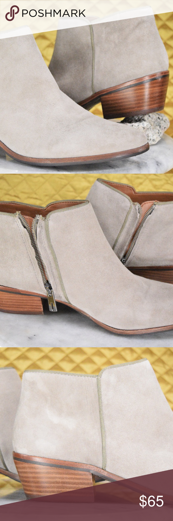 830828078 Sam Edelman Petty Chelsea Boots Women s Sz 9M NEW These beautiful zip up  booties by Sam