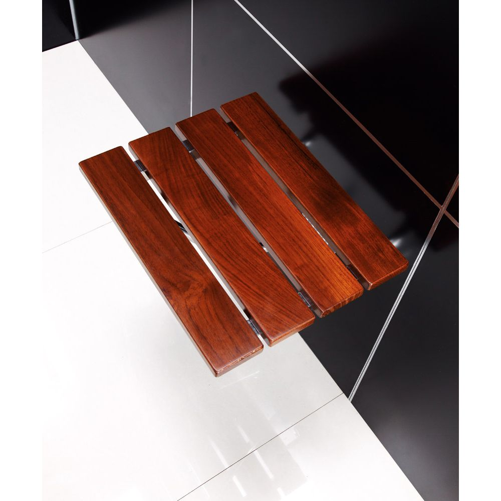 Interesting Teak Shower Bench With Stylish Design For Bathroom ...