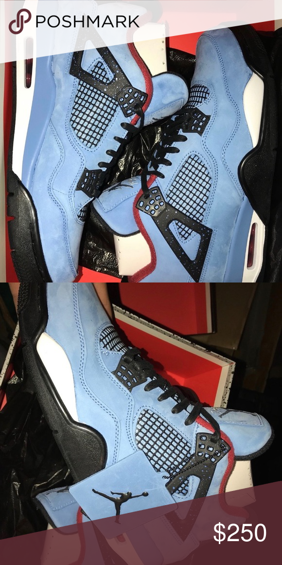 "488852e8422f8 Air Jordan 4 ""Cactus Jack"" Deadstock Authentic Fast shipping Jordan Shoes  Sneakers"