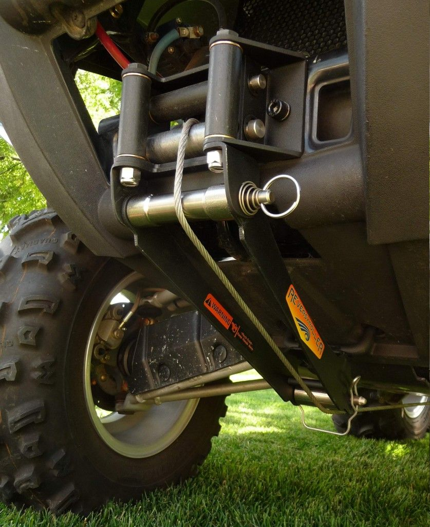 Reversaroller allows you to winch backwards with a front
