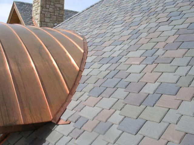 Best Synthetic Slate And Copper Roof Roof Shingles Slate 400 x 300