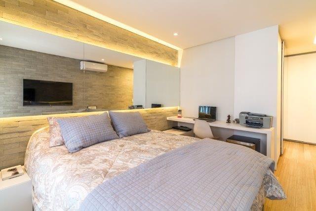 DSGN Apto 172 - Suite master 2 - Unidade decorada à venda. Rua Gabriele D'Anunzzio - Campo Belo. Agende sua visita. 11-95106-1133