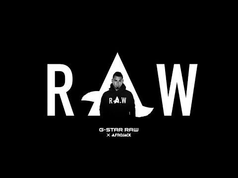 G Star Raw Presents Afrojack Capsule Collection