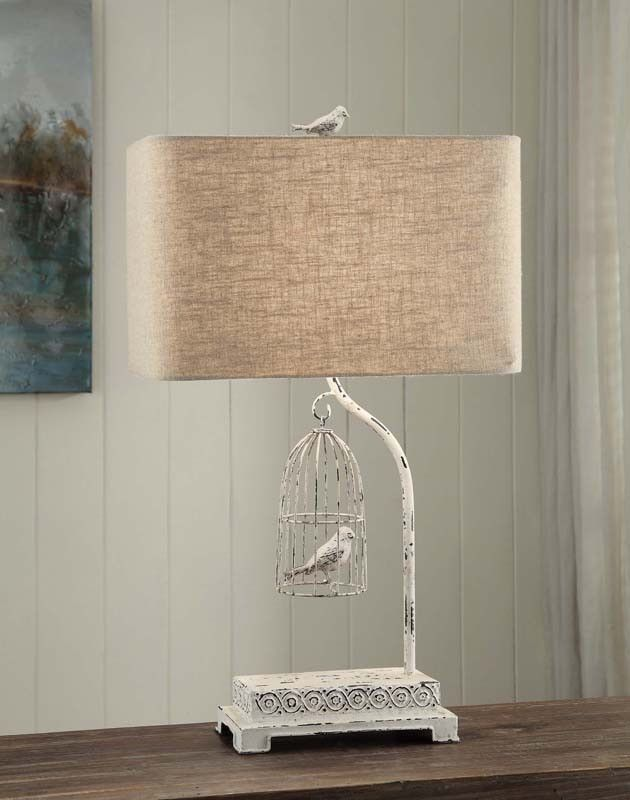 Crestview Collection CVAER463 Birdsong Table Lamp 17/10 X 17/10 X 10.5