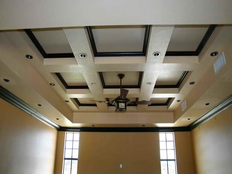 Coffered Ceilings Decoration Ideas: Decorative Coffered Ceilings .