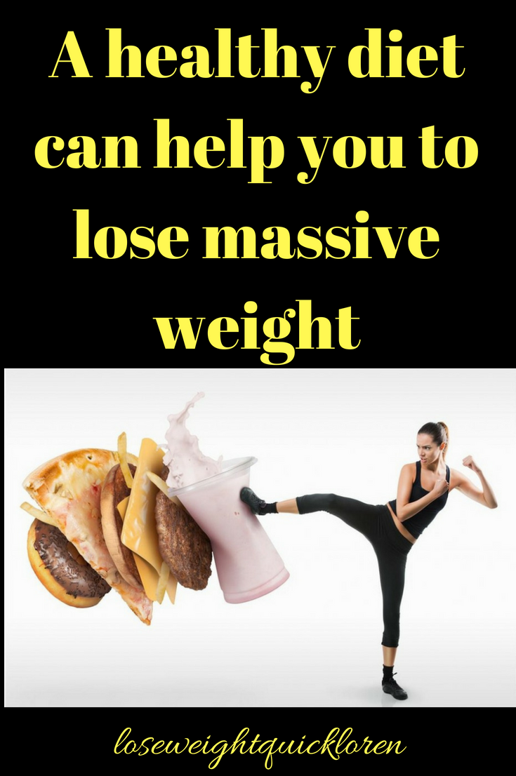 A Healthy Diet Plan Can Help You To Lose Massive Weight Download