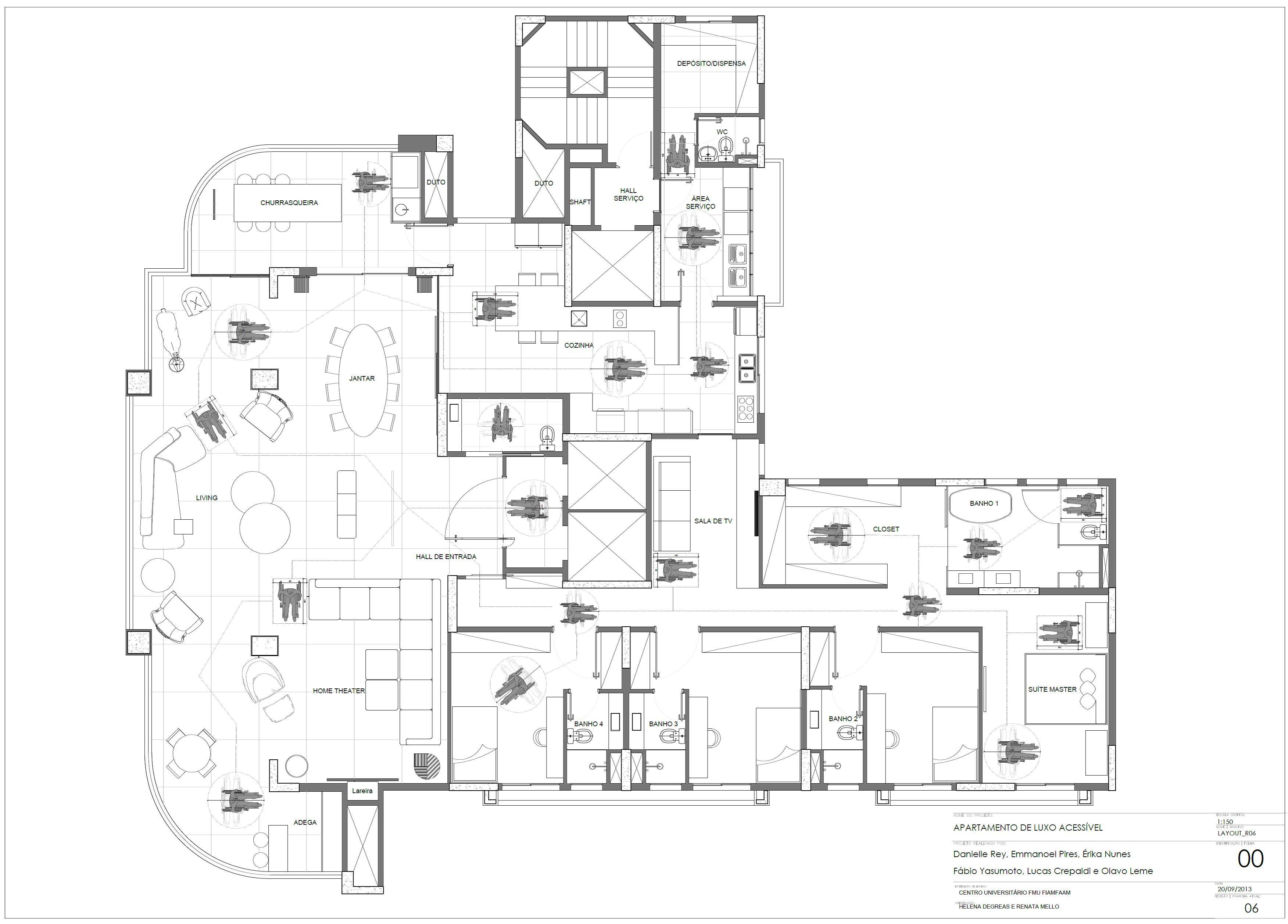 Acessibilidade Em Apartamento De Alto Padrao