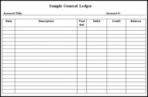 11 Impressive Excel Ledger Template With Debits And Credits Excel Spreadsheets Templates Small Business Expenses Spreadsheet Template