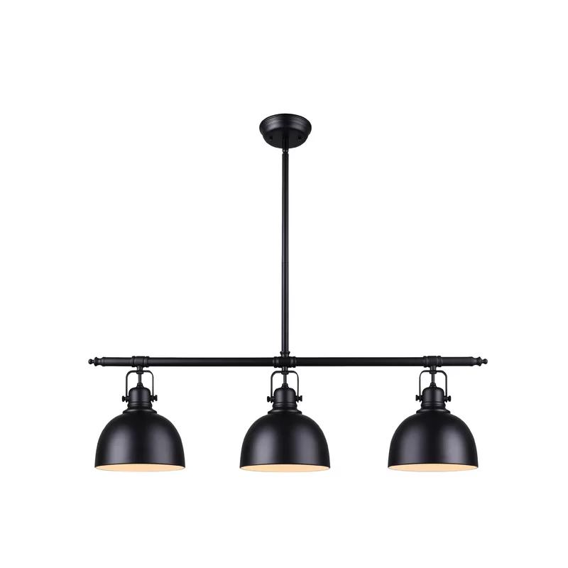 Santamonica 3 Light Kitchen Island Linear Pendant Kitchen Lighting Modern Kitchen Lighting Kitchen Ceiling Lights
