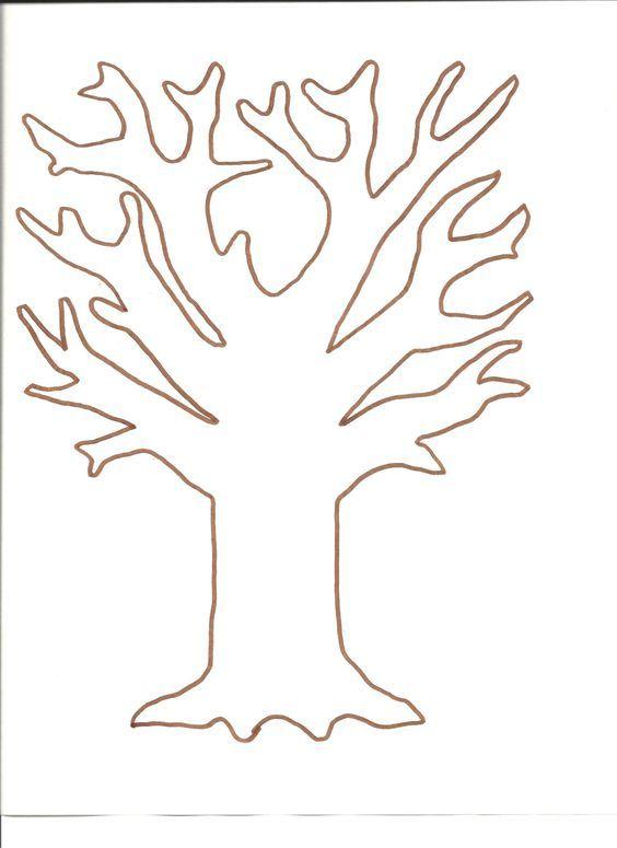 Árvore com molde | szablony | Pinterest | Molde, Feltro y Muñecos de ...
