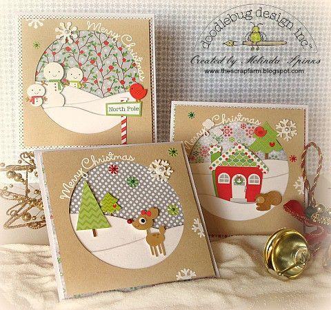 Christmas Cards *Doodlebug*