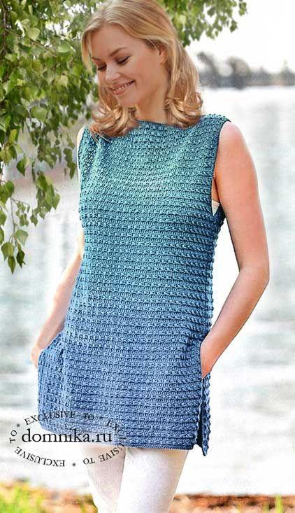вязание для женщин блузки