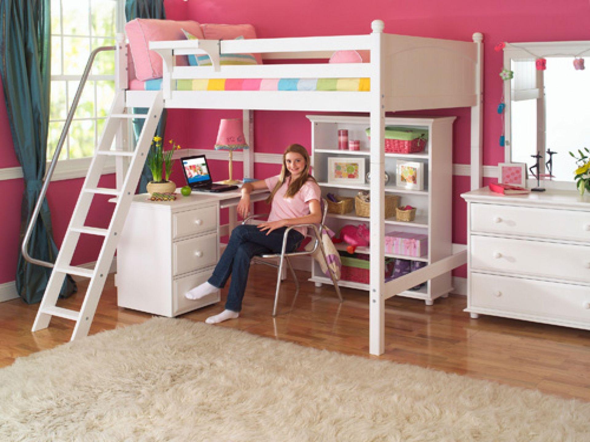 Teenage loft bedroom designs  Best Loft Beds for Teenage Girls  katrinahousingbest