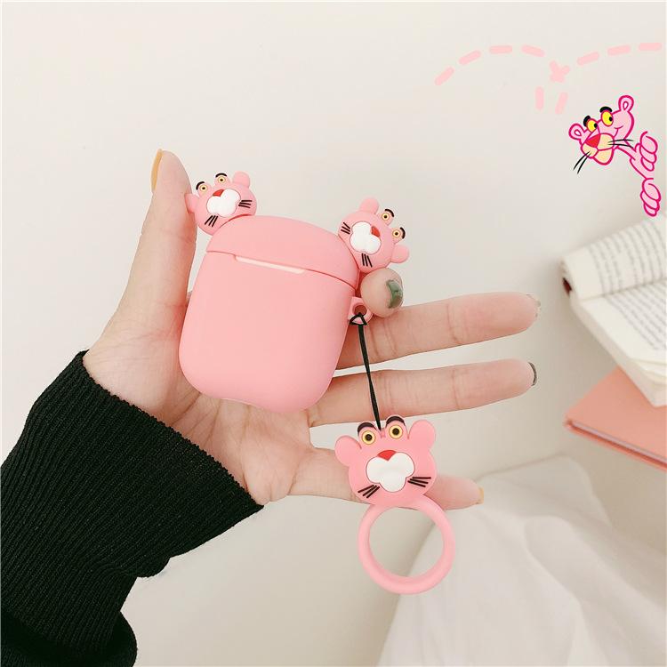 2020 的 3D Pink Panther Airpods case Disney Apple