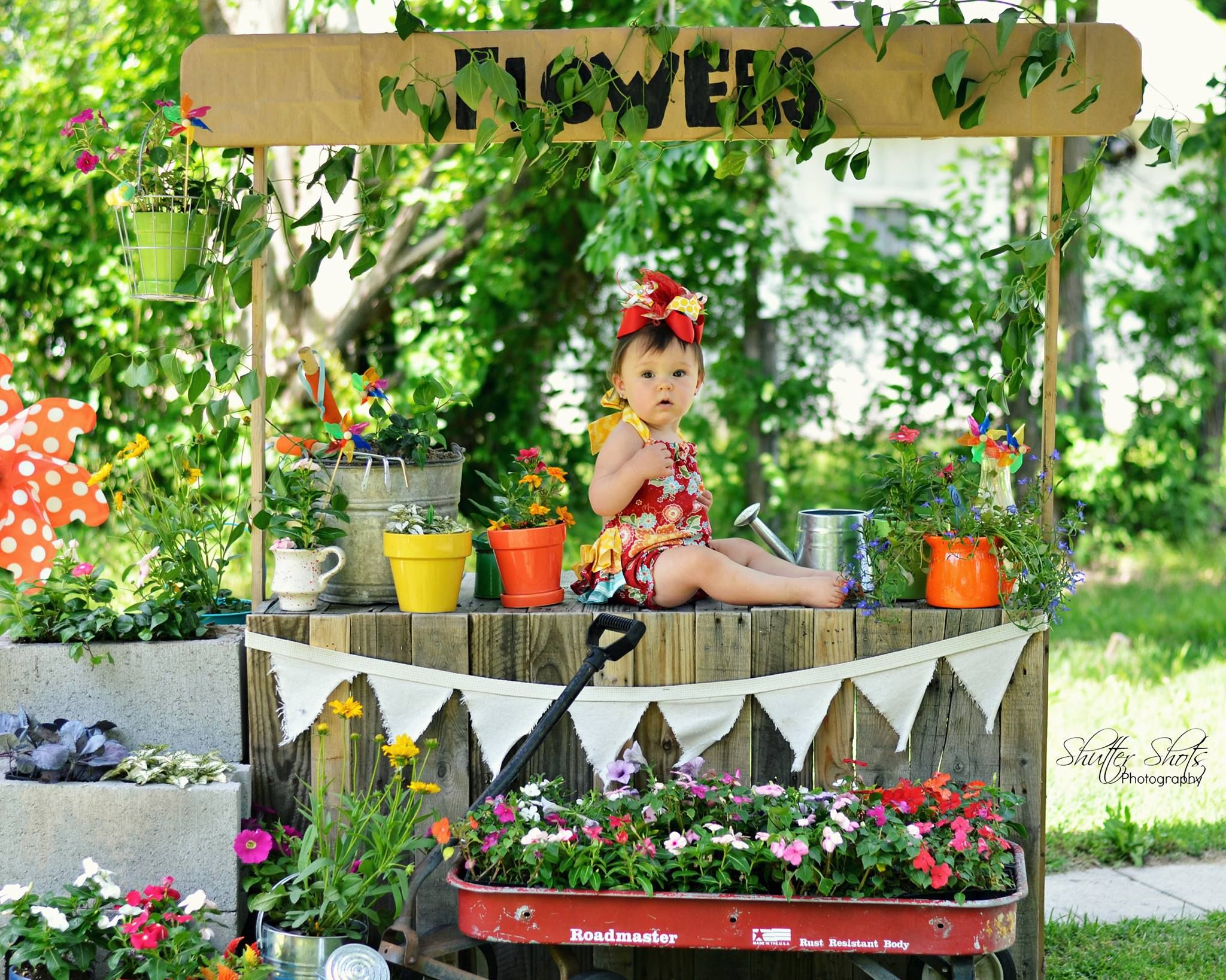 Great idea for spring mini sessions!