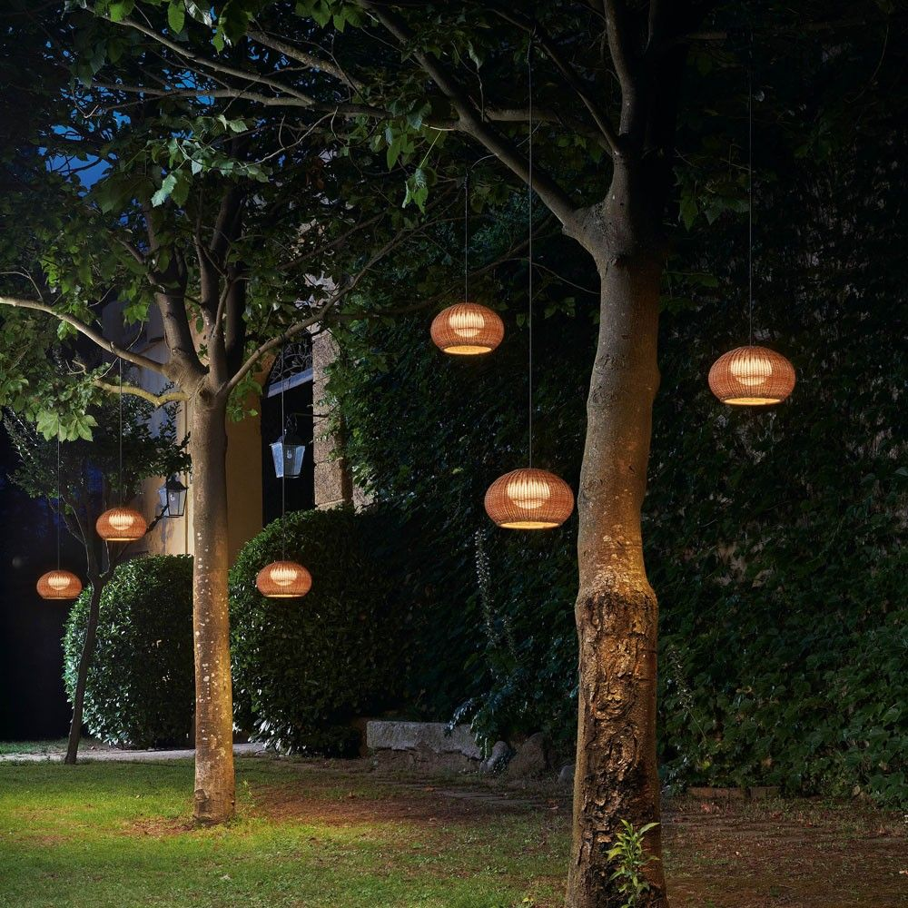 Garota outdoor plug in pendant light pendant lighting outdoor the garota outdoor plug in pendant light resembles a floating sea urchin http mozeypictures Images
