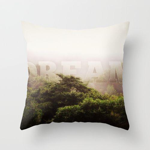 Dream Throw Pillow.....we all need a dream